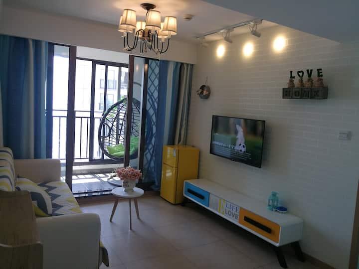 嵊泗南长途沙滩天悦湾度假村弄潮2号海景公寓
