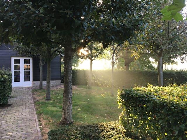 NIEUW! Het Buitenhuis, luxe cottage Kampen Zuid - Kampen - Cabana