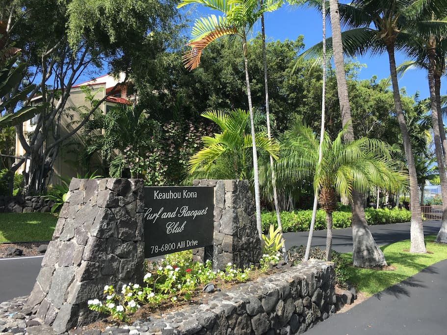 Gated Entry to one of the most popular resorts in Kona