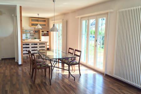 Superbe appartement avec jardin à Romanel - Romanel-sur-Lausanne - Appartement