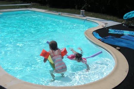 Accès  direct jardin et piscine - Sainte-Soulle