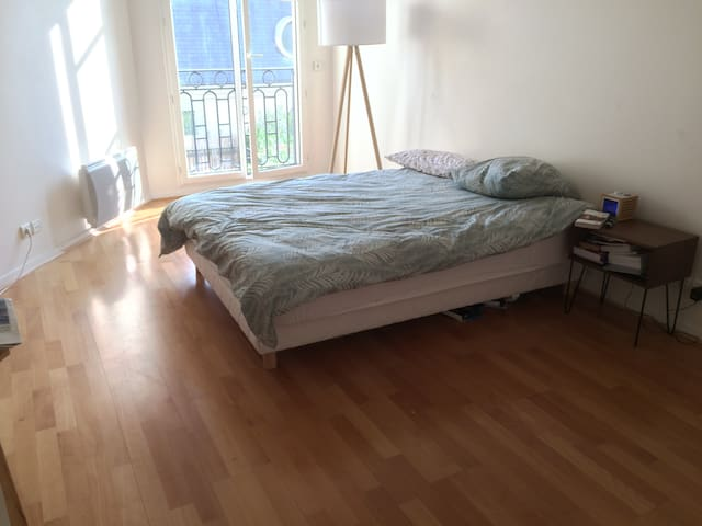 Super sunny and quiet room - Canal saint Martin - Paris-10E-Arrondissement - Apartament