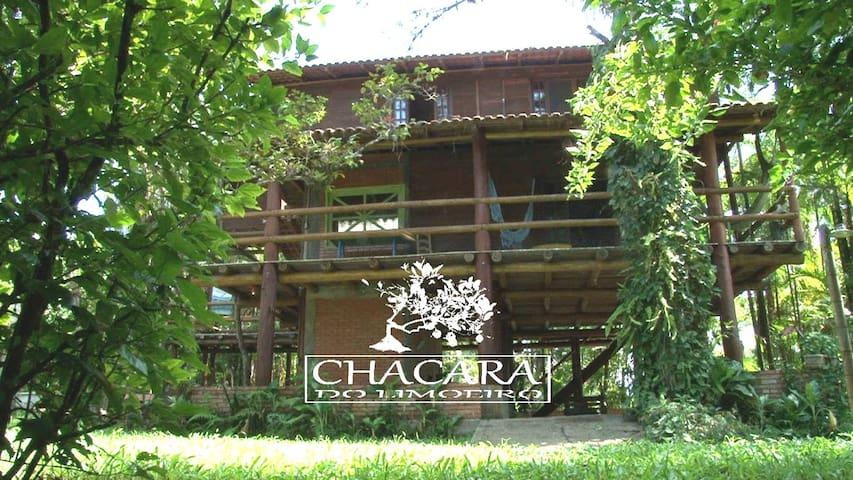 Delícia de Chácara a beira de rio - Antonina/PR