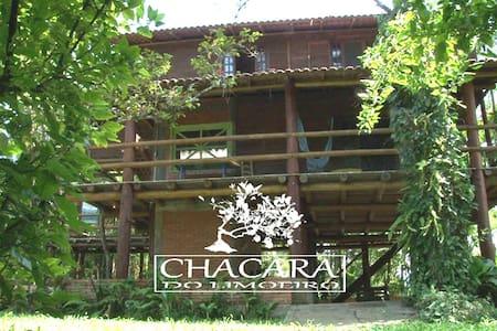 Incrivel casa rústica,beira do rio - Antonina/PR