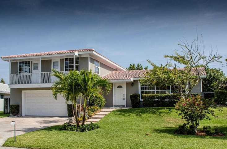 Coral Way Oasis - West Palm Beach - House