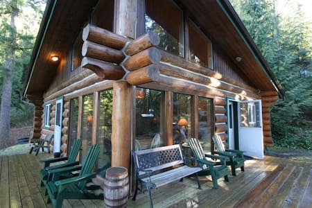 97MF, Cabin at Maple Falls, with Lake View - Kisház