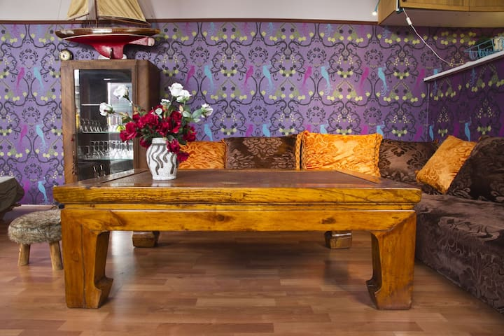 Cosy bohemian style appartement - Anvers - Daire