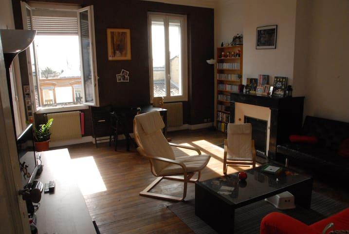 Chambre agréable dans appartement bordelais