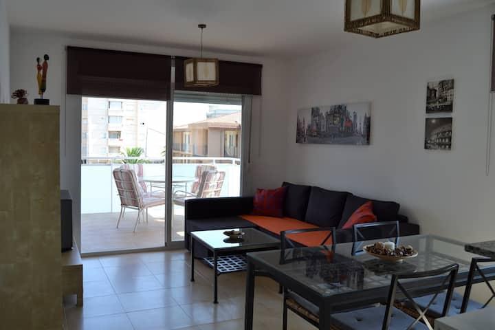 Bonito apartamento con WIFI junto preciosas calas