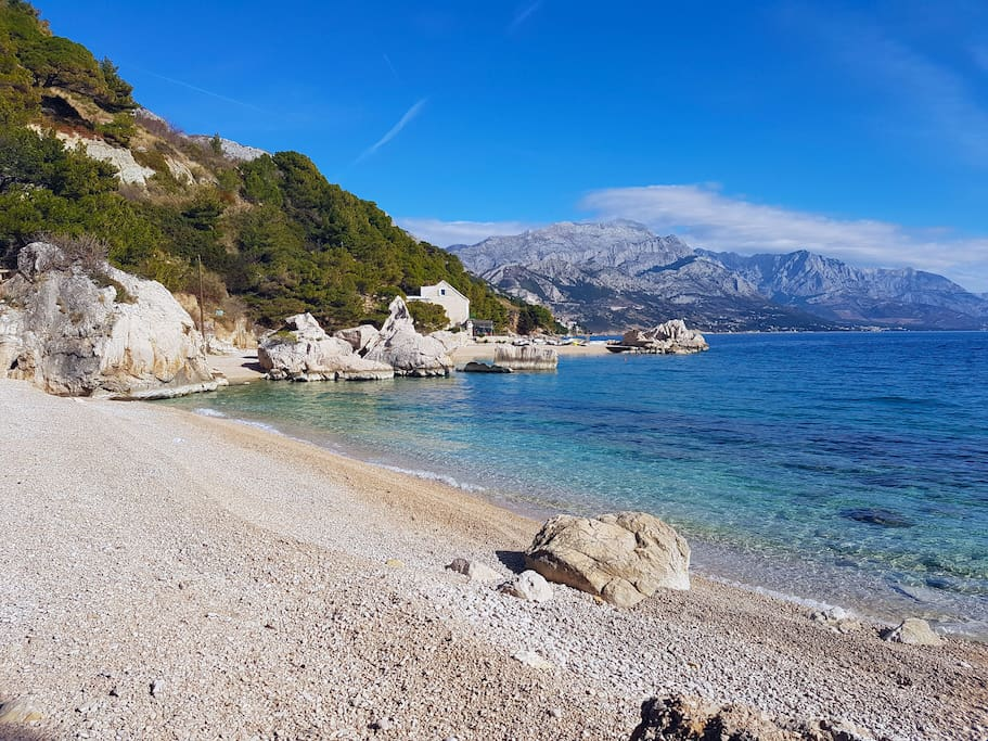 Best pebble beaches for children you can imagine just few steps from the house