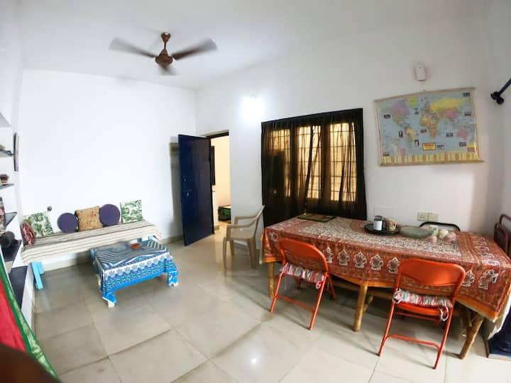Cozy apartment in the center of Pondicherry