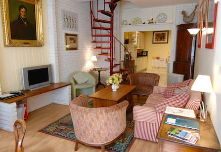 Charming quirky and cosy little townhouse. - Montreuil - Hus