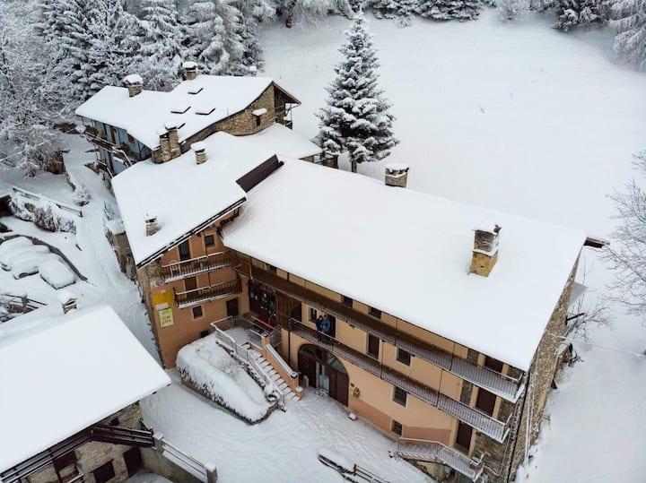 Appartamento nelle alte terre del Castelmagno