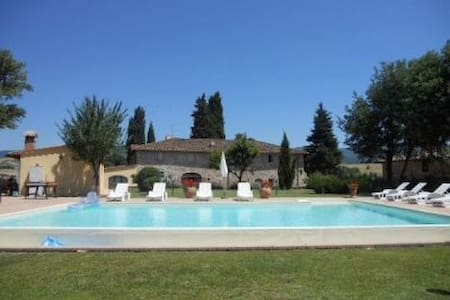 Casa Toscana con piscina e vista sul Mugello - 2