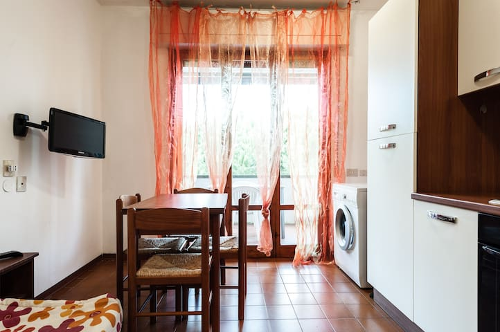 Apartament for 4 people next to the seaside