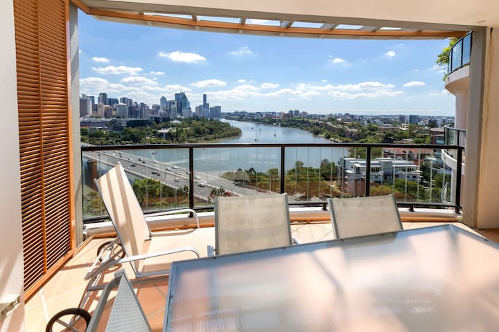 Apartment with Fantastic View - South Brisbane