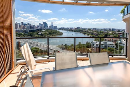 Apartment with Fantastic View - 사우스 브리즈번(South Brisbane) - 아파트