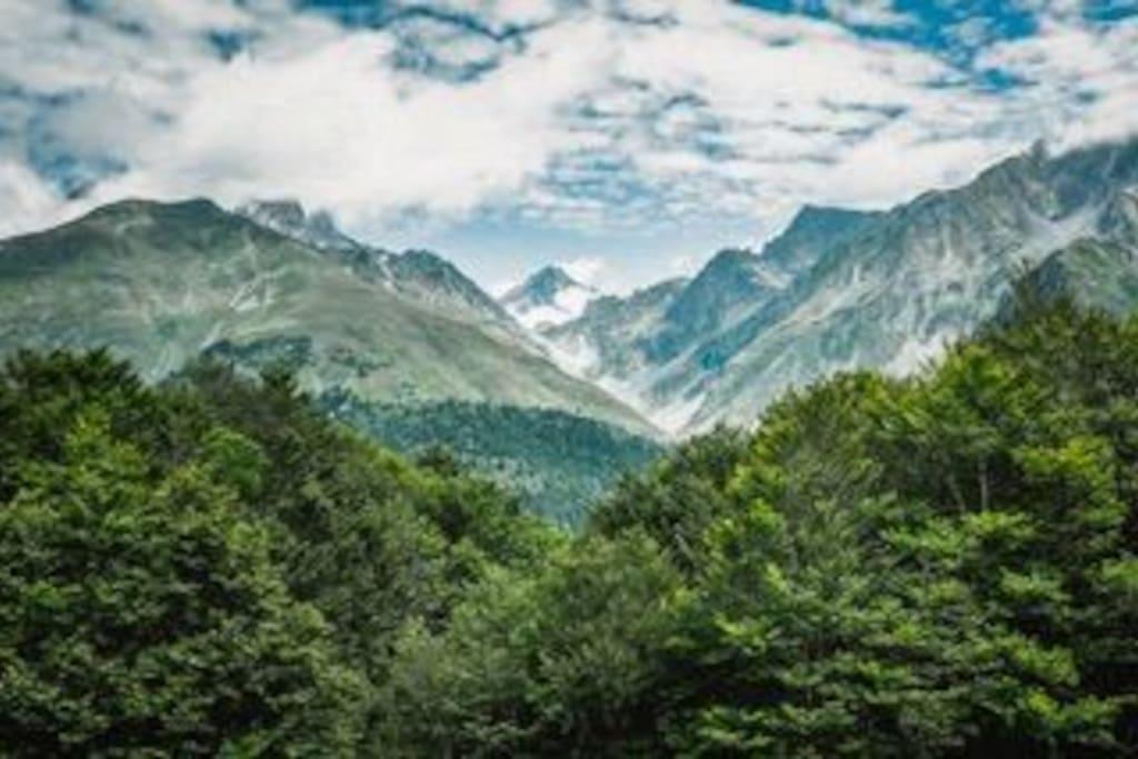 une montagne exceptionnelle