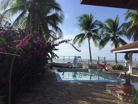 A beachfront property very near to Panama city