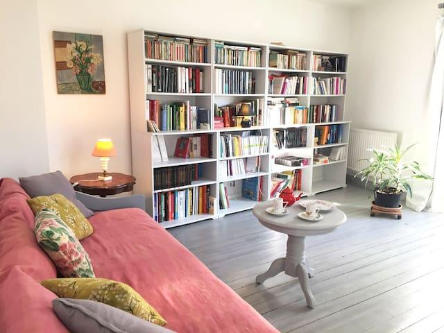 Joli appartement lumineux et calme centre village