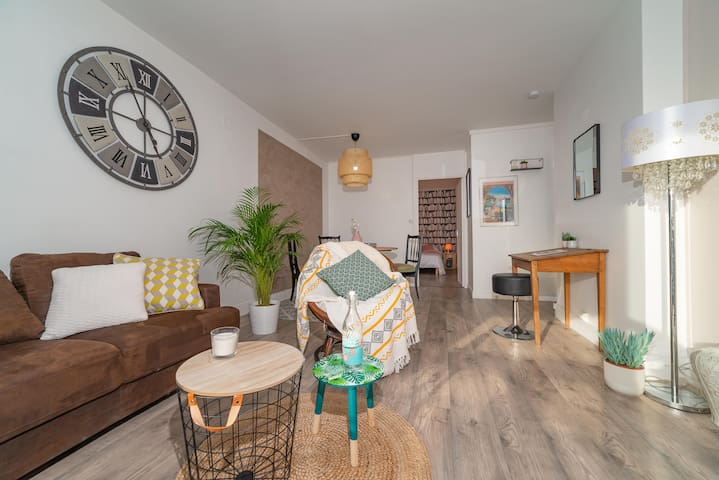 Spacious apartment, 5min from Fontainebleau