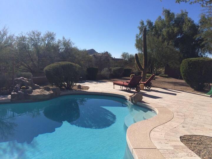Luxury Troon North Home Pool Spa
