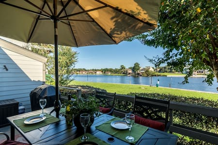 Breathtaking lake front condo on Lake Conroe - Montgomery - Kondominium