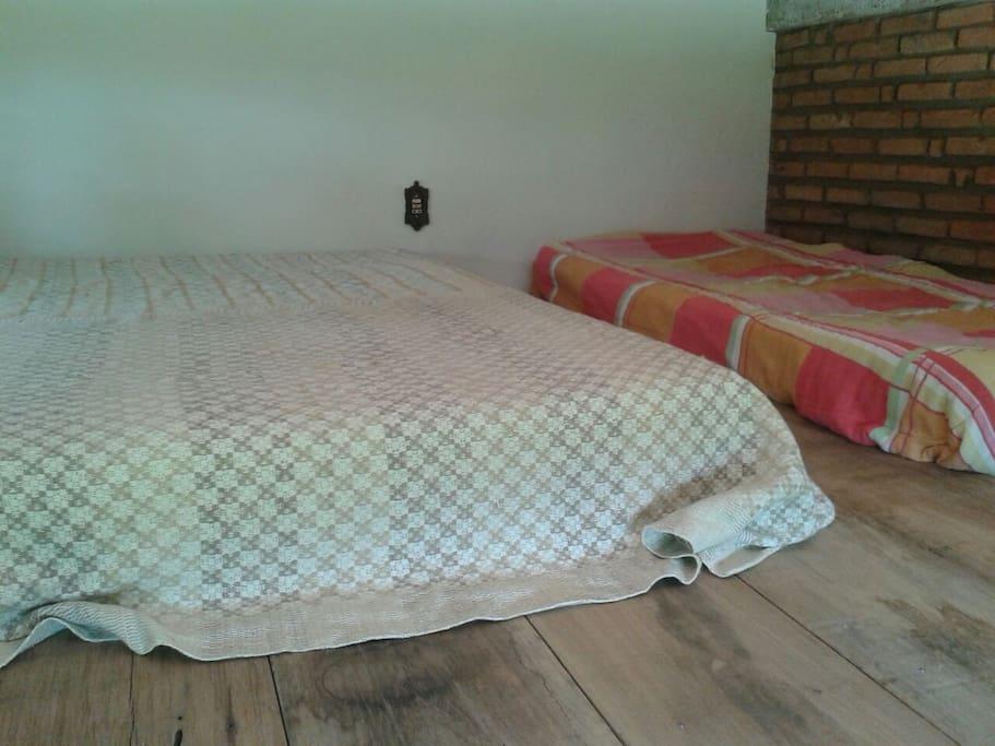 Mezanino em cima do quarto