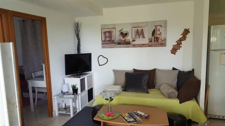 Appartement  indépendant en  rez-de-jardin