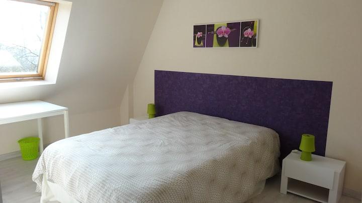 Chambre agréable et confortable sur Bourges