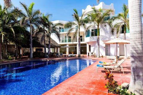 Casa Baomal Villa 4 - Oceanview and Beach View