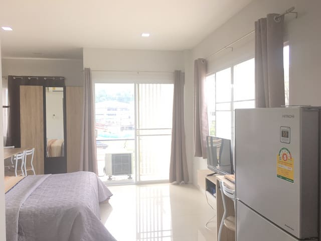 Comfortable Studio Room In Pakchong/Khaoyai (#301)