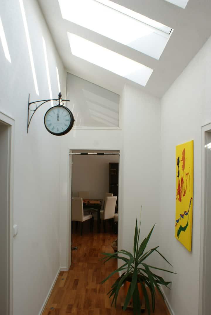 65m² Loft, Bergblick 60m² Dachterrasse im Allgäu