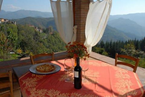 Dom w górach w relaxatio