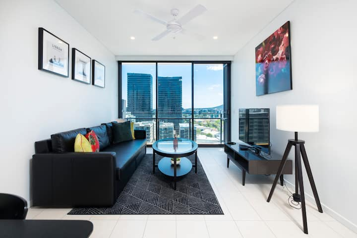 ❤Southbank Riverside Stylish ❤1BR|Pool&Gym&Parking