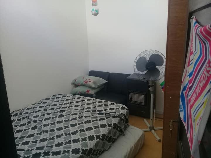 Apartamento en Pocitos, muy cómodo y tranquilo.