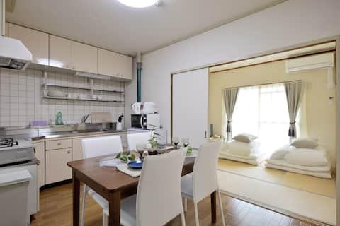 A2012/centro di Osaka/affitto completo/famiglia/wifi/503
