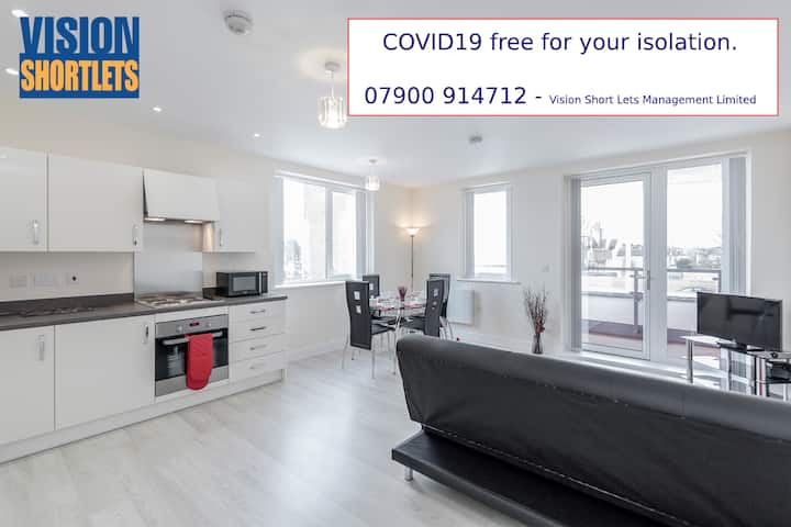 *Very large 2bed 2bath with parking - Harrow*