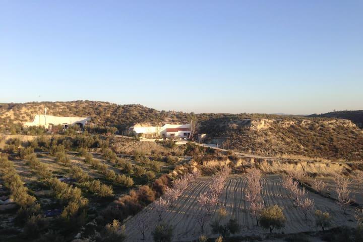 Woongrot Alterra de la Luz,  100% rust en natuur - Castilléjar - Cave