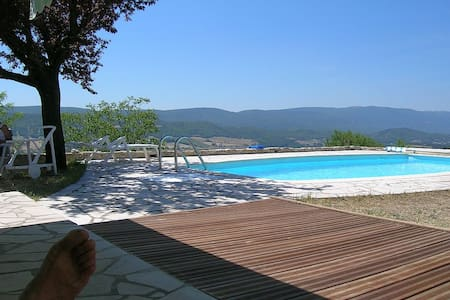 Luberon - plein sud - piscine - Reillanne