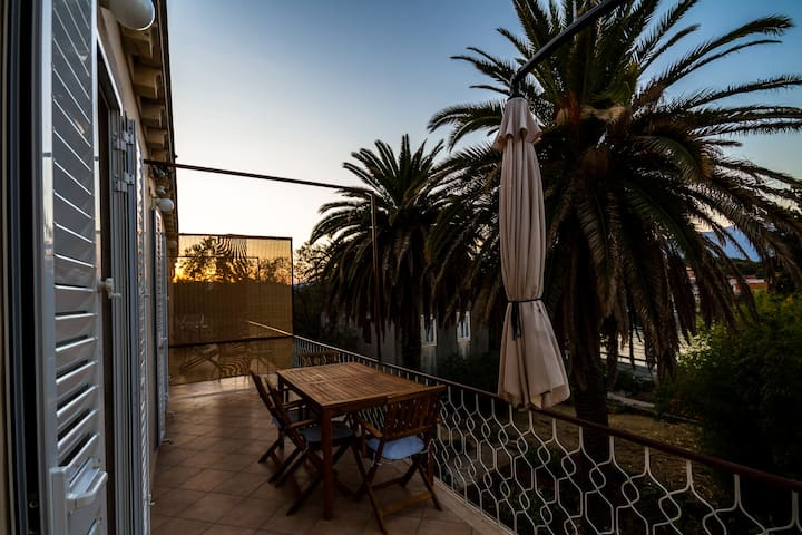 Sunset from our terrace