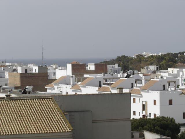 Apartamento con terraza privada y wifi