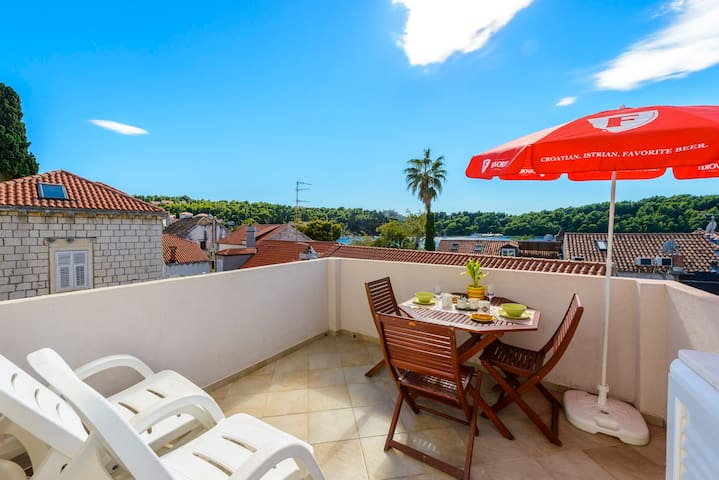 Old town Cavtat Modern Sea View Apartment