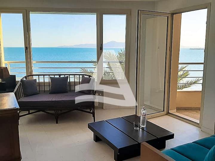 Un joli appartement à la goulette vue sur  mer
