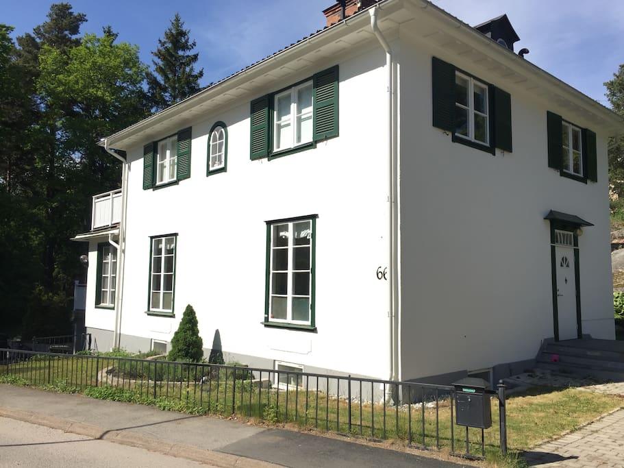 The villa was bulit in 1923
