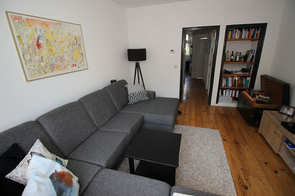 Trendy apt in popular area 10min from city center for Design apartment jordaan
