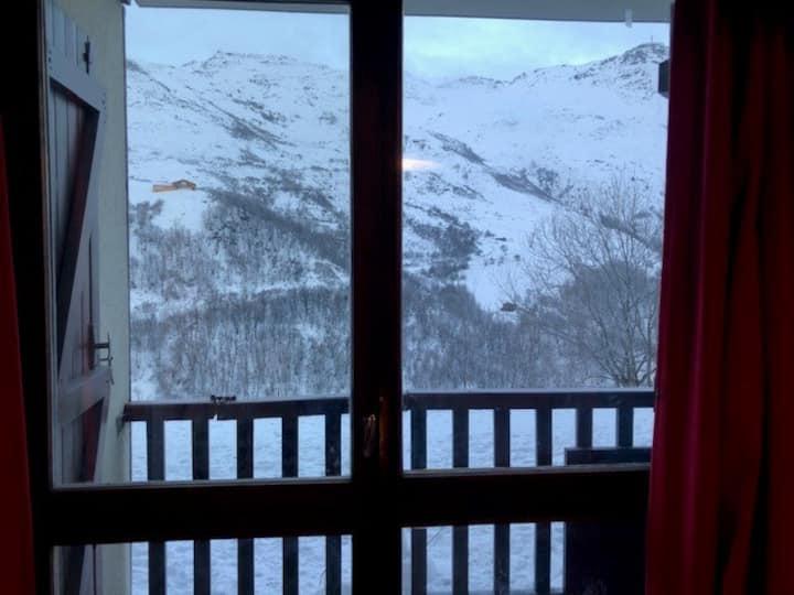 Appart départ-arrivé Ski au Pied 4Pers. SuperbeVue