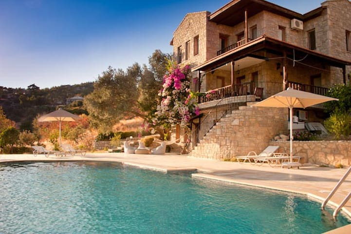 Villa Olive Garden Swimming Pool&Stunning Sea View - Datça - Casa