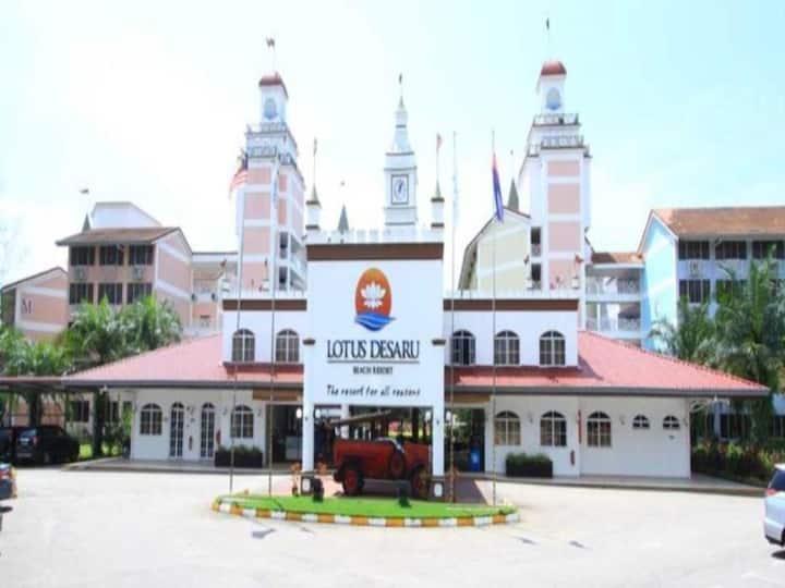 Lotus Desaru Beach Resort with water theme park