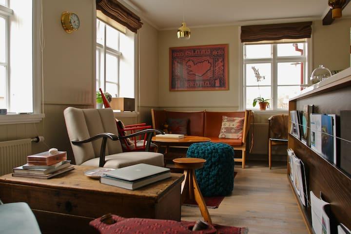 Hótel Egilsen / 3rd floor under a sloped ceiling